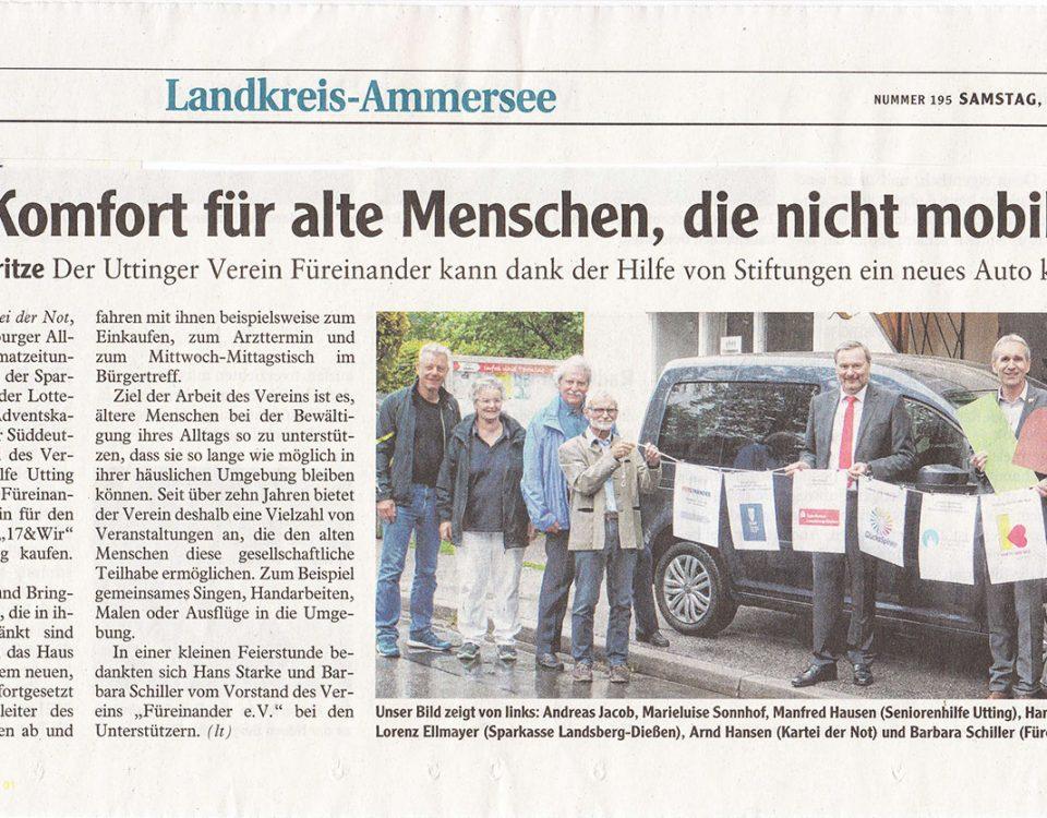 Landberger Tagblatt Neues Auto