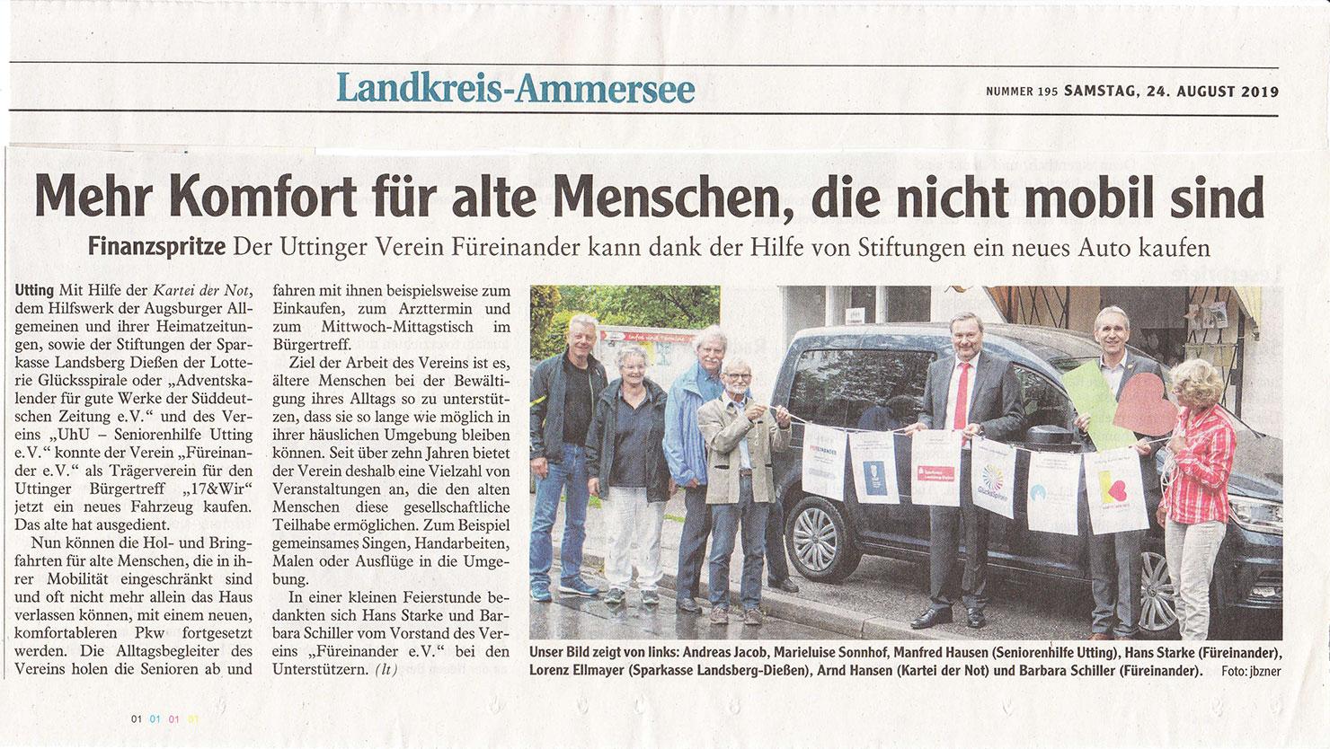 Landsberger Tagblatt 24.08.2019