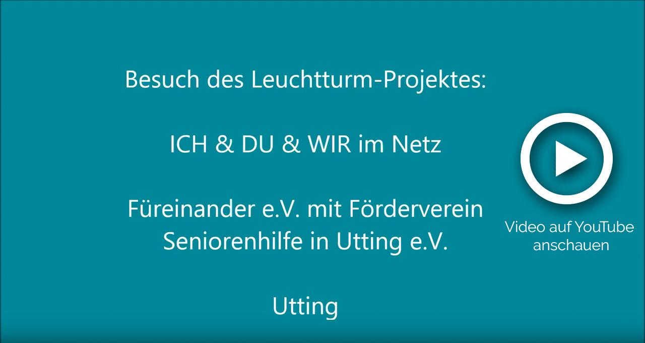 """""""ICH & DU & WIR im Netz"""" - UhU Utting e.V."""
